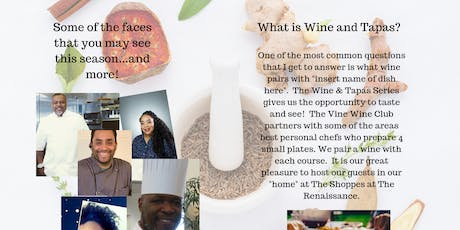 Wine and Tapas: Wines of California with Breon Berry tickets