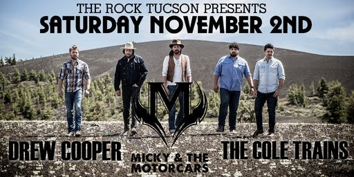 Micky & The Motorcars, Drew Cooper & The Cole Trains