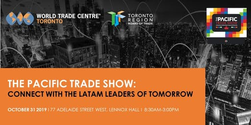 Pacific Trade Show 2019   Conference & Exhibition