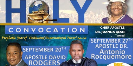 Pre-Holy Convocation Revival tickets