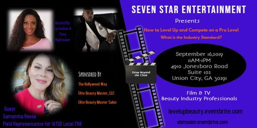 """Film & TV """"The Hollywood Way"""" Edition for Beauty Professionals"""