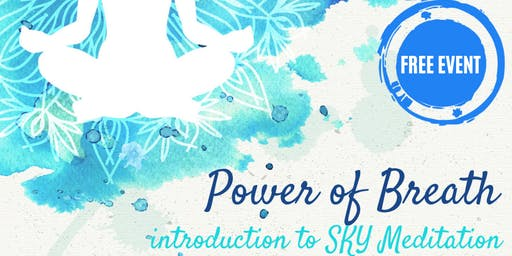 Power of Breath | Free Intro to the SKY Happiness Program