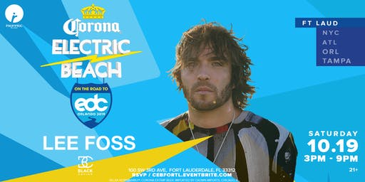 Corona Electric Beach 'Road to EDC Orlando' w/ Lee Foss & Black Caviar
