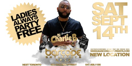 Nest Saturdays w/ DJ CHARLIE B tickets