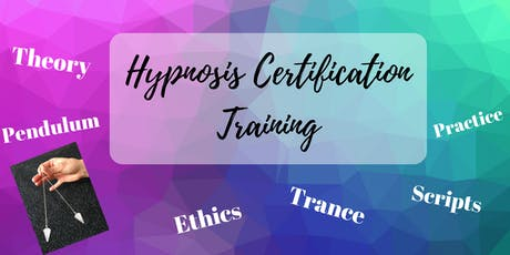 Hypnosis Certification Training tickets
