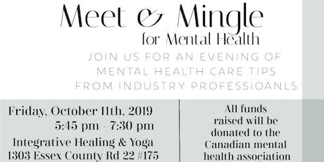 Meet & Mingle for Mental Health tickets