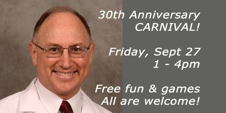 Dr. Brian Hockel's 30th Anniversary Carnival tickets