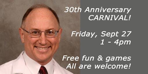 Dr. Brian Hockel's 30th Anniversary Carnival
