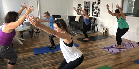 Happy Hour Yoga tickets