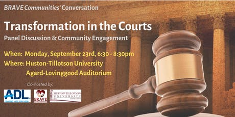 BRAVE Communities' Conversation - Transformation in the Courts tickets