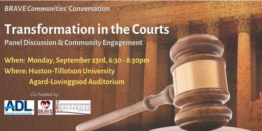 BRAVE Communities' Conversation - Transformation in the Courts