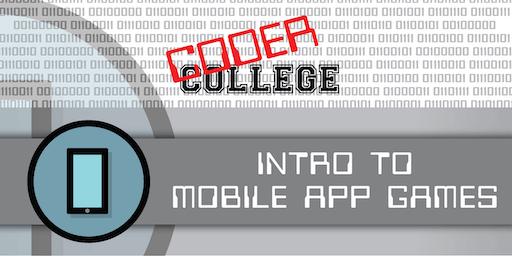 Intro to Mobile App Games (Rosetta Primary School) - Term 4 2019