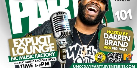 Day Party 101 UNC Charlotte Homecoming Day Party tickets