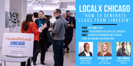 LocalX: How To Generate Leads from LinkedIn tickets