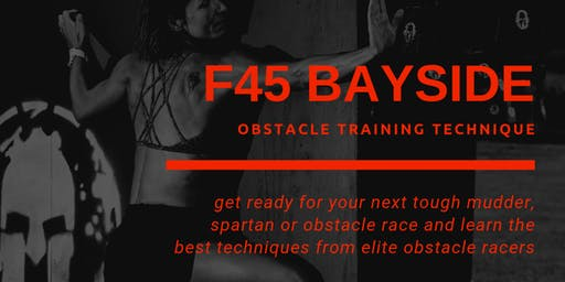 F45 Bayside Tough Mudder and Spartan Technique Training