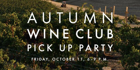 Waterbrook Wine Club Pick Up Party tickets