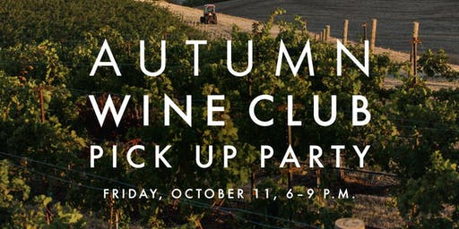 Waterbrook Wine Club Pick Up Party