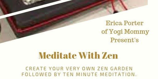 Meditate With Zen-D.I.Y. Zen Gardens