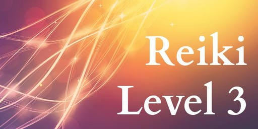 October- Reiki Level 3 Course- Tap into your Own Mastery!