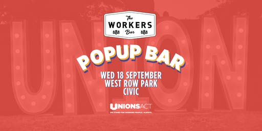 Pop Up Workers Bar