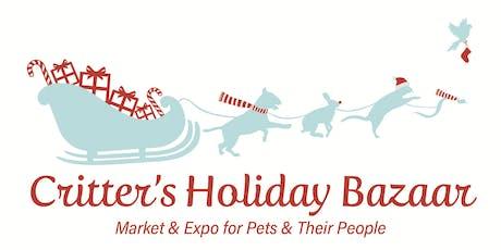 Critter's Holiday Bazaar tickets