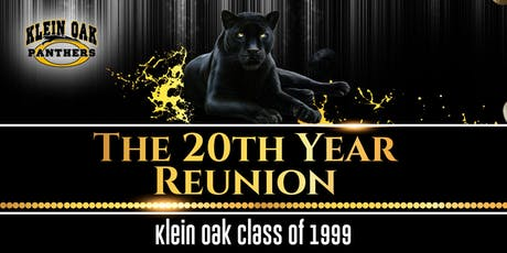 Klein Oak Class of 1999 - The 20th Year Reunion tickets