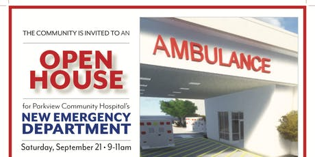NEW EMERGENCY DEPARTMENT OPEN HOUSE! Tours, Health Screenings, Refreshments tickets