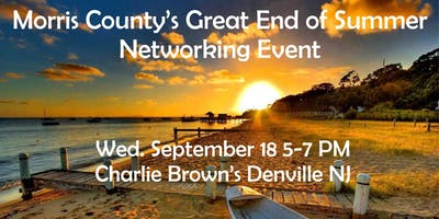 Morris County's Great End of Summer Networking Event