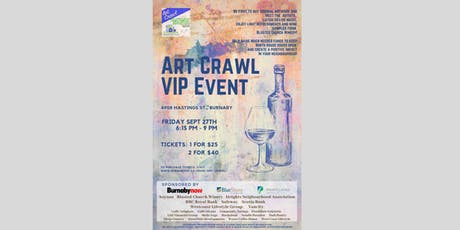Art Crawl Burnaby Heights - VIP Night tickets