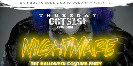 """""""Nightmare"""" Halloween costume party"""