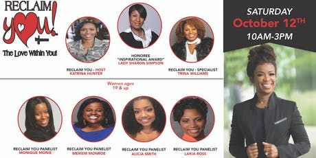 Register for our October 12th  - Are You Ready? Join us  Reclaim You/That Girl is SMART/That Boy is SMART Life Experience tickets