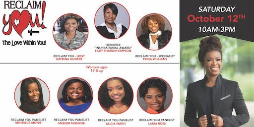 Register for our October 12th  - Are You Ready? Join us  Reclaim You/That Girl is SMART/That Boy is SMART Life Experience