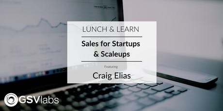 Sales for Startups & Scaleups with Craig Elias tickets