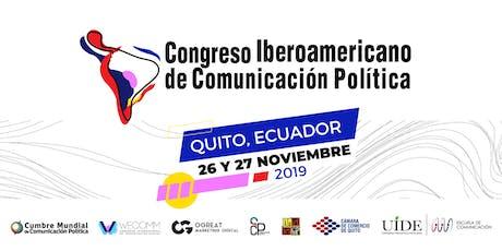 Congreso Iberoamericano de Comunicación Política entradas