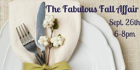 The Fabulous Fall Affair tickets
