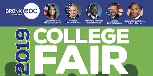 College Fair  2019 - SUNY Bronx EOC