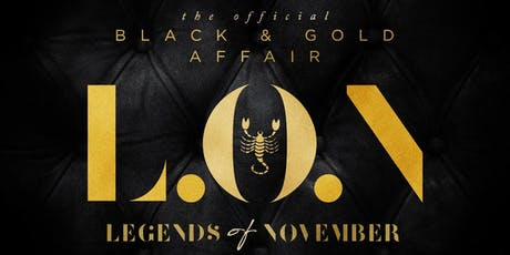 LEGENDS OF NOVEMBER 2019 tickets