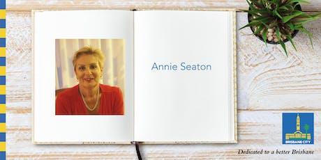 Meet Annie Seaton - Garden City Library tickets