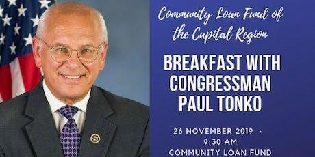 Community Loan Fund Breakfast with Congressman Paul Tonko tickets