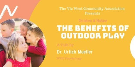 Speakers Night: Benefits of Outdoor Play tickets
