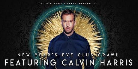 2020  Las Vegas New Years Eve Club Crawl - With Calvin Harris at Omnia Nightclub tickets
