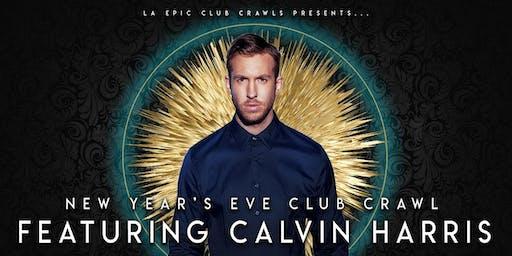 2020  Las Vegas New Years Eve Club Crawl - With Calvin Harris at Omnia Nightclub
