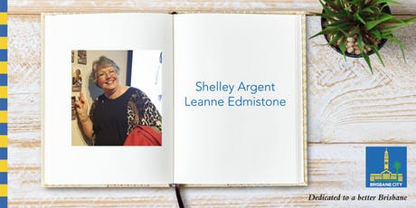 Meet Shelley Argent and Leanne Edmistone - Wynnum Library tickets