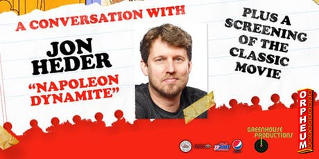 Napoleon Dynamite: A Conversation With Jon Heder tickets