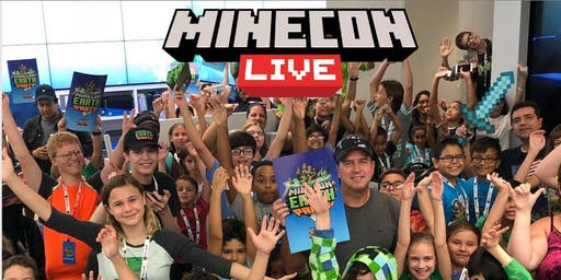 MINECON Live Party at Microsoft Store