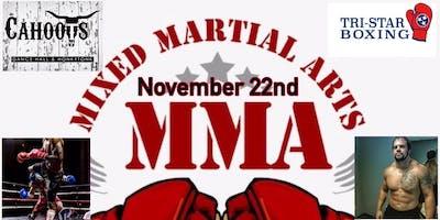 Mixed Martial Arts MMA Fight Night @ Cahoots Lebanon TN, November 22, 2019