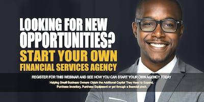 Start your Own Financial Services Agency Birmingham AL