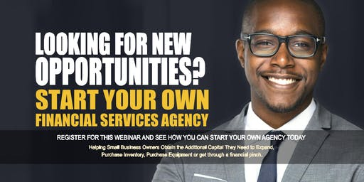 Start your Own Financial Services Agency Birmingham AL
