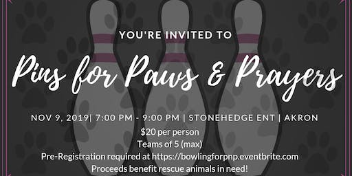 2nd Annual Pins for Paws & Prayers