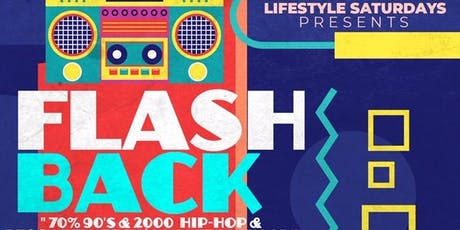 Flashback  90's/2000's Party | Open Bar + Free Entry | Music By Mister Cee tickets